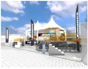 Bauma Munich 2016 Morooka Booth-1