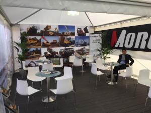 Bauma Morooka Booth (2)