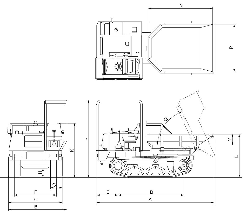 MST-300VDR_Dimension